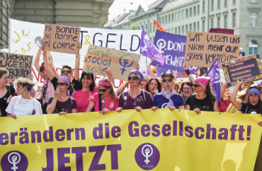 Frauen am 14. Juni 2019 in Bern