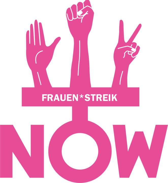 [Translate to Français:] Unia-Logo zum Frauenstreik 2019