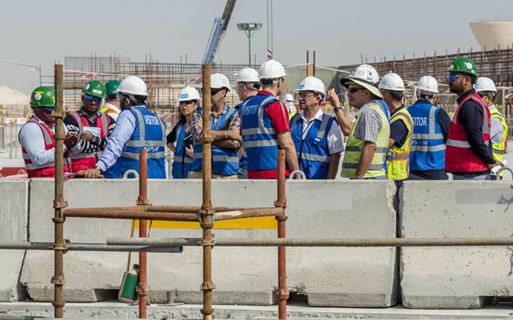 Bessere Arbeitsbedingungen Auf Wm Baustellen In Katar Unia