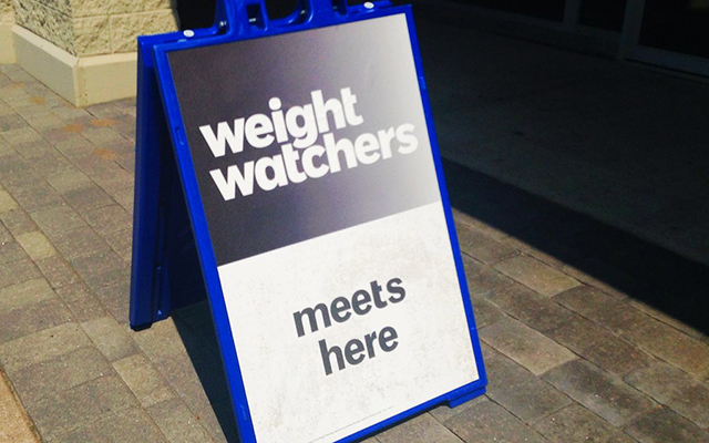 [Translate to Italiano:] Plakat Weight Watchers Treffen