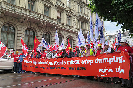 Grosse Baudemo am 27. Juni in Zürich
